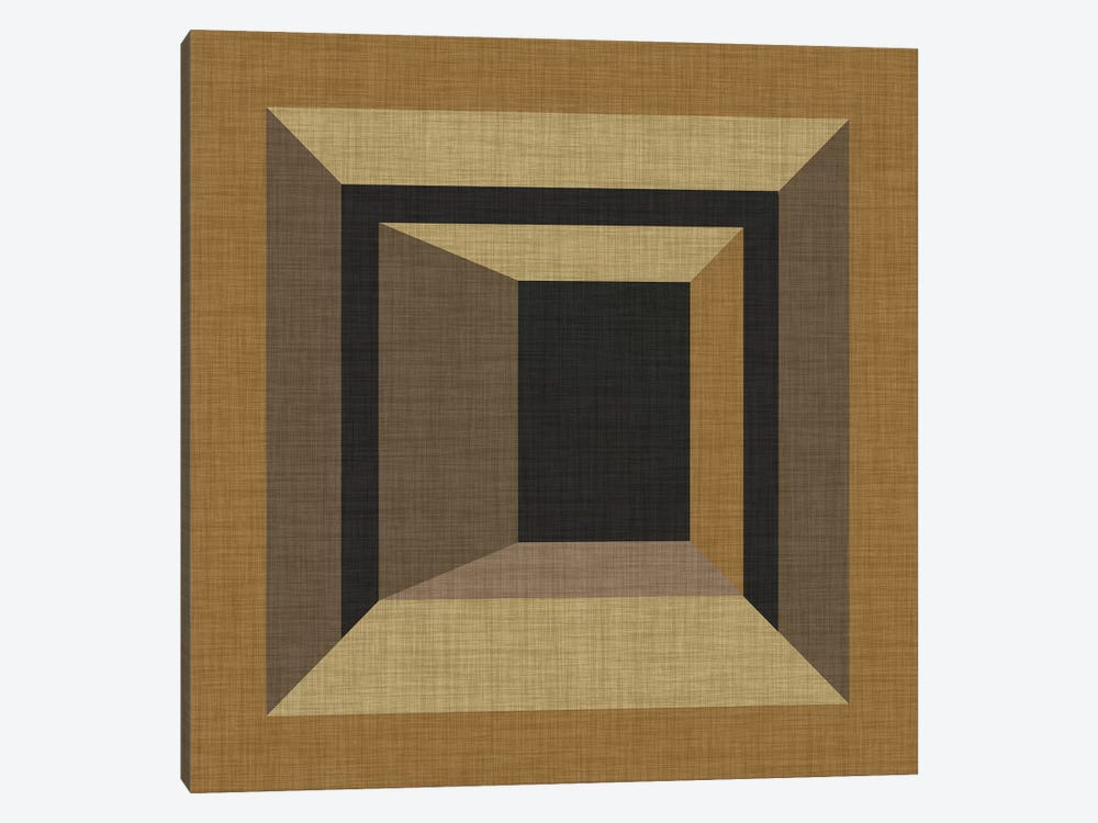 Geometric Perspective VII by June Erica Vess 1-piece Canvas Print