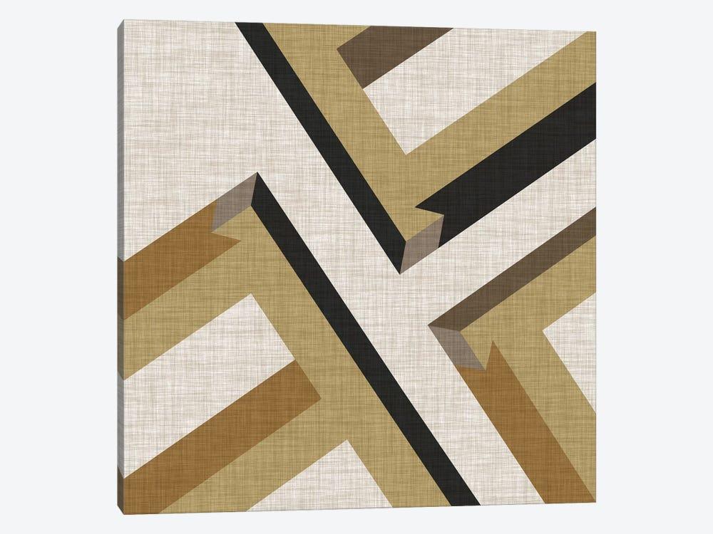 Geometric Perspective VIII by June Erica Vess 1-piece Canvas Art