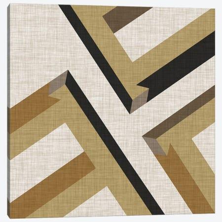 Geometric Perspective VIII Canvas Print #VES91} by June Erica Vess Canvas Print