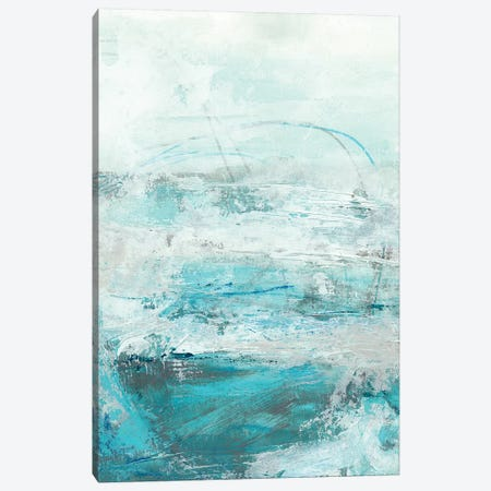 Glass Sea I Canvas Print #VES92} by June Erica Vess Art Print