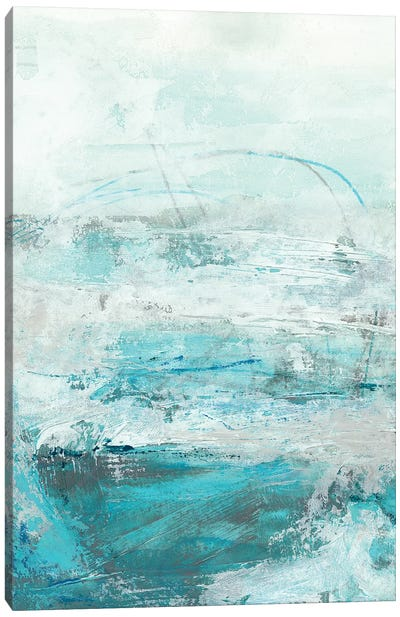 Glass Sea I Canvas Print #VES92