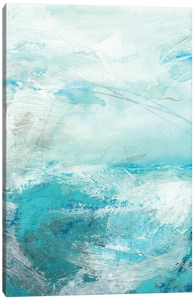 Glass Sea IV Canvas Print #VES95