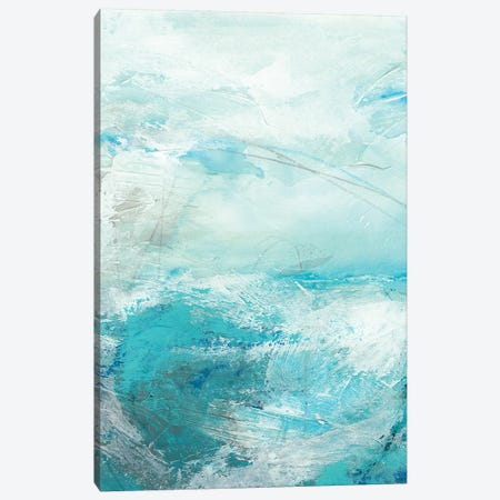 Glass Sea IV Canvas Print #VES95} by June Erica Vess Canvas Artwork