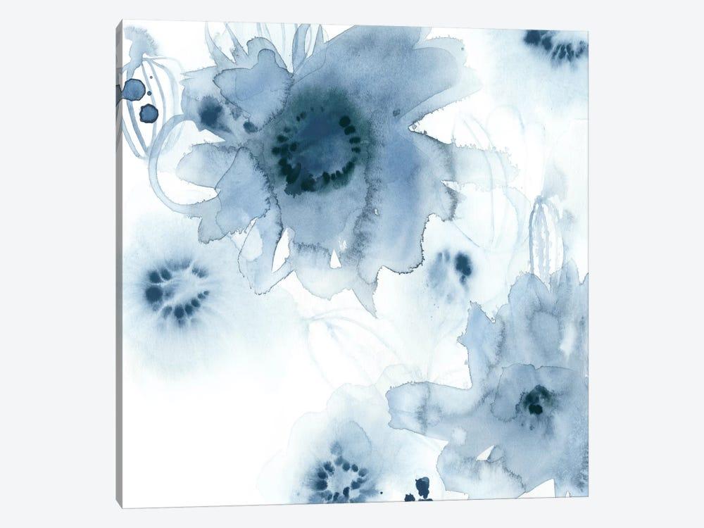 Aquatic Indigo I by June Erica Vess 1-piece Canvas Print