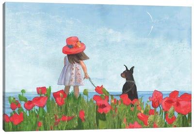 Dreams About The Far Countries Canvas Art Print