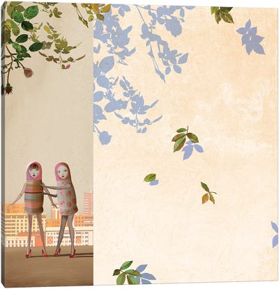 Is It Spring Canvas Art Print