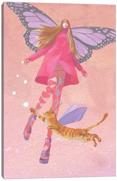 My Colored Dreams Canvas Art Print