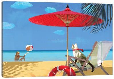 My Lifeguard Canvas Art Print