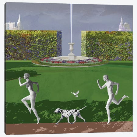Runners From Eden Canvas Print #VFO21} by Victoria Fomina Canvas Art