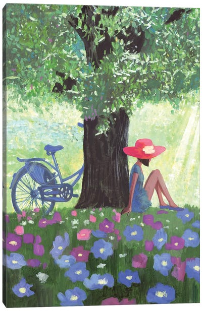 Summer In Provence Canvas Art Print
