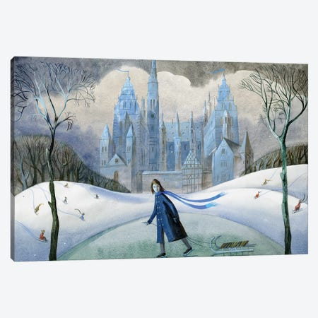 The Snow Queen I Canvas Print #VFO25} by Victoria Fomina Art Print