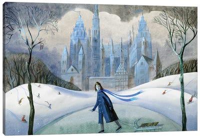 The Snow Queen I Canvas Art Print