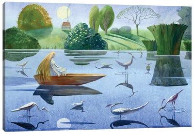 The Snow Queen IV Canvas Art Print
