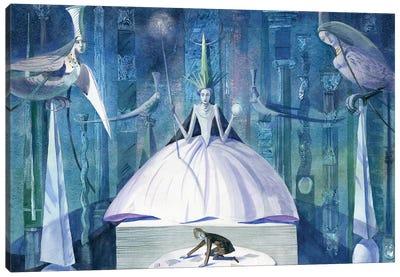 The Snow Queen V Canvas Art Print