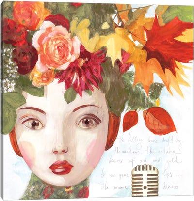 A Song Of Autumn Canvas Art Print