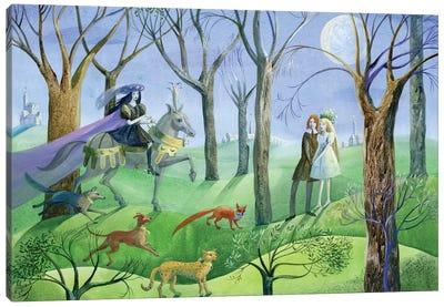 The Snow Queen VI Canvas Art Print