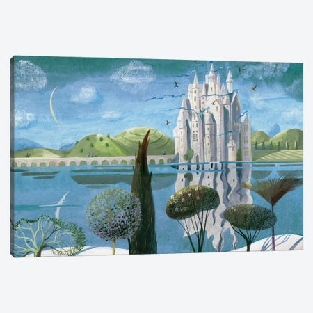 The Snow Queen VII Canvas Print #VFO31} by Victoria Fomina Canvas Print
