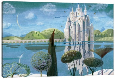 The Snow Queen VII Canvas Art Print