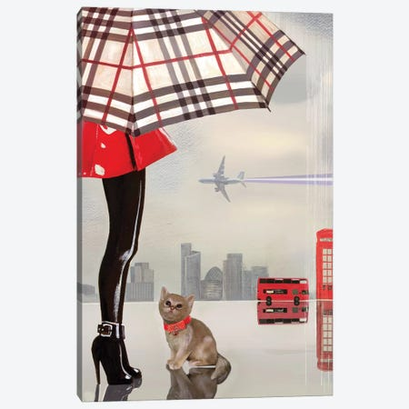 Young Londoner Canvas Print #VFO32} by Victoria Fomina Canvas Print