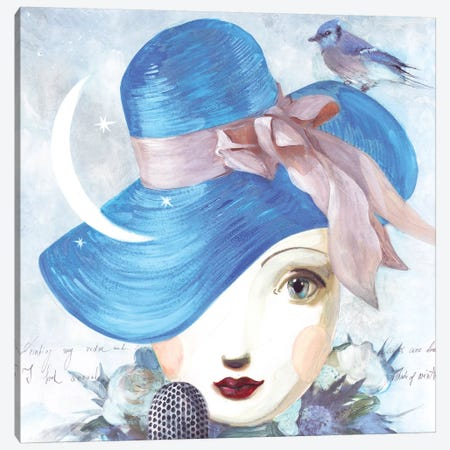 A Song Of Winter Canvas Print #VFO3} by Victoria Fomina Canvas Print