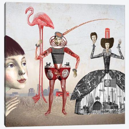 Alice In Wonderland I Canvas Print #VFO4} by Victoria Fomina Canvas Artwork