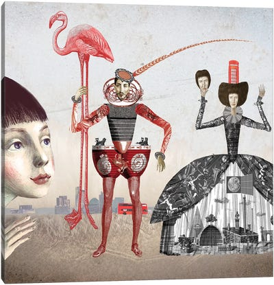 Alice In Wonderland I Canvas Art Print