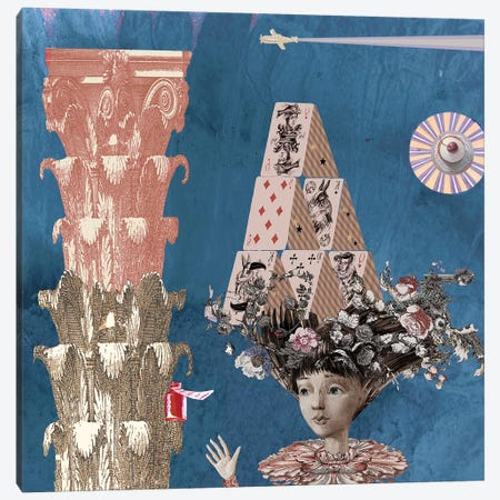 Alice In Wonderland II Canvas Print #VFO5} by Victoria Fomina Canvas Artwork