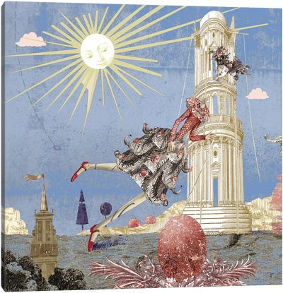 Alice In Wonderland III Canvas Art Print