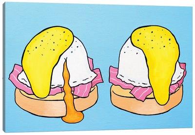 Eggs Benedict Canvas Art Print