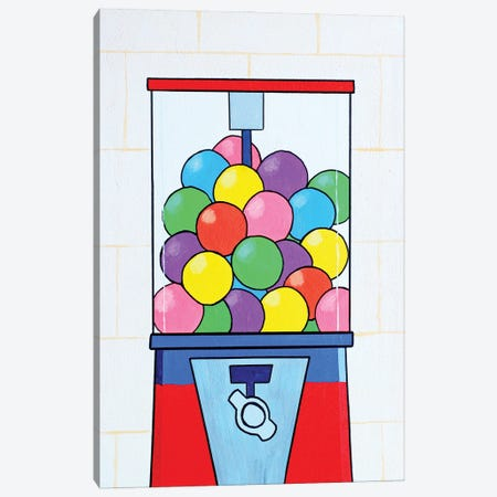 Gumball Machine Canvas Print #VGG28} by Ian Viggars Art Print