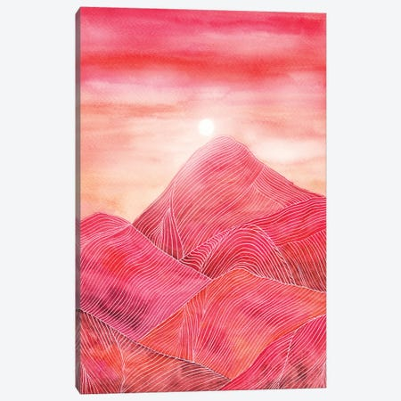 Lines In The Mountains XXIII Canvas Print #VGO103} by Viviana Gonzalez Canvas Wall Art
