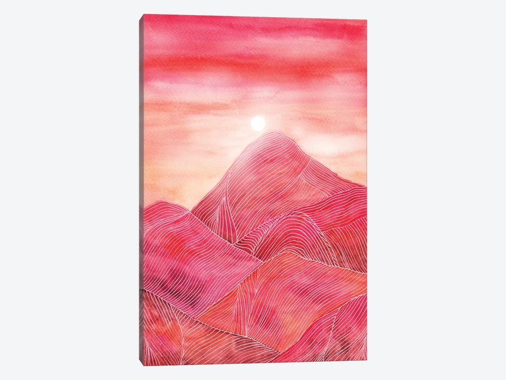 Lines In The Mountains XXIII by Viviana Gonzalez 1-piece Canvas Wall Art