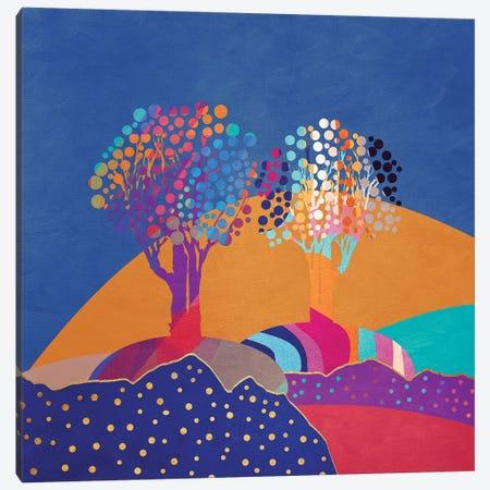 Retro Trees II Canvas Print #VGO105} by Viviana Gonzalez Canvas Print