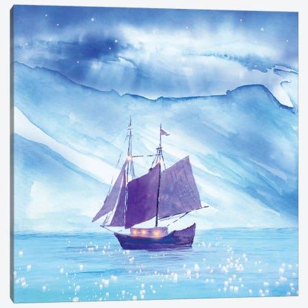Sailing In Winter Canvas Print #VGO106} by Viviana Gonzalez Canvas Print