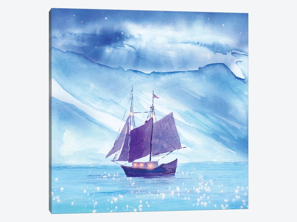 Sailing In Winter 1-piece Art Print