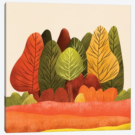 Autumn Landscapes I Canvas Print #VGO115} by Viviana Gonzalez Canvas Artwork