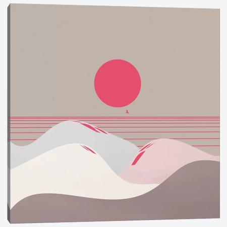 Minimal Sunset IX Canvas Print #VGO120} by Viviana Gonzalez Canvas Wall Art