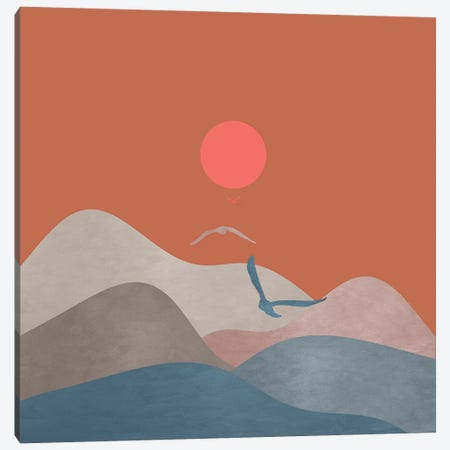 Minimal Sunset XIII Canvas Print #VGO124} by Viviana Gonzalez Canvas Art Print