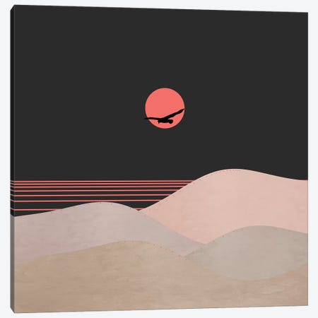 Minimal Sunset XIV Canvas Print #VGO125} by Viviana Gonzalez Canvas Art Print