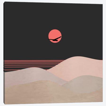 Minimal Sunset XIV Canvas Print #VGO125} by Viviana Gonzalez Canvas Art Print