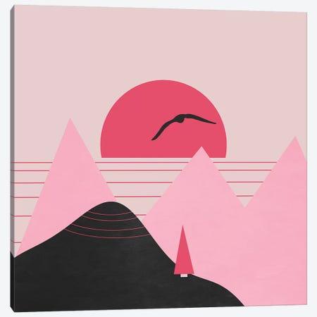 Minimal Sunset XV Canvas Print #VGO126} by Viviana Gonzalez Canvas Print