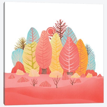Spring Landscapes I Canvas Print #VGO129} by Viviana Gonzalez Canvas Artwork