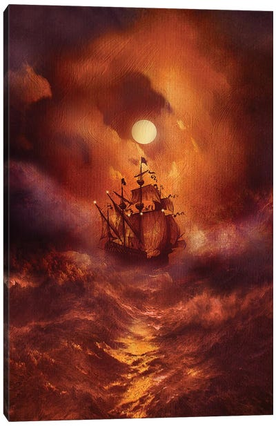 Perfect Storm Canvas Art Print