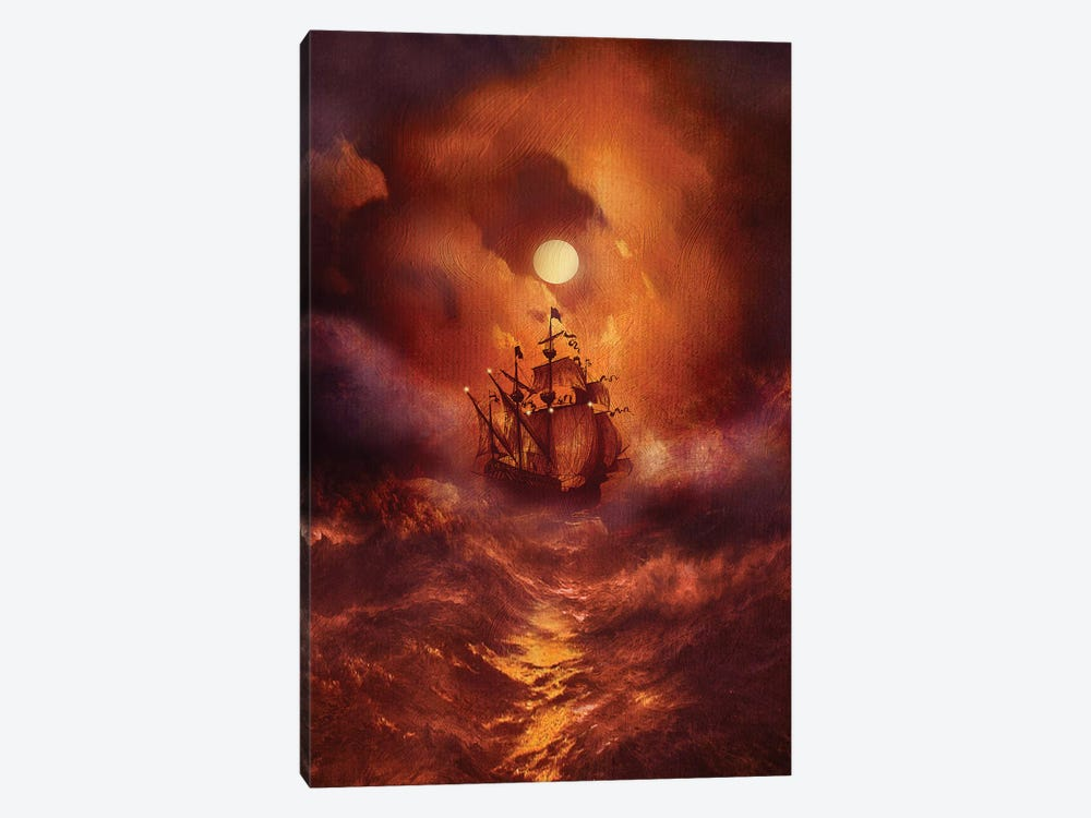 Perfect Storm by Viviana Gonzalez 1-piece Canvas Wall Art