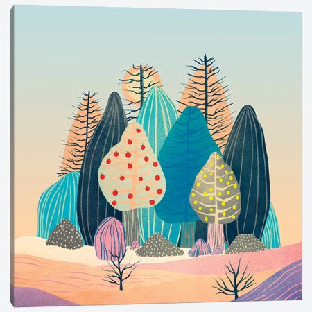 Spring Landscapes II Canvas Print #VGO130} by Viviana Gonzalez Canvas Print