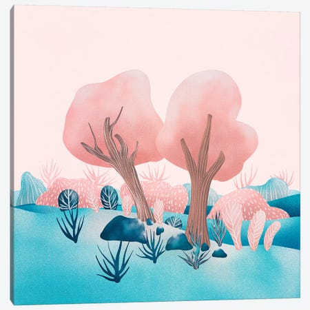 Winter Landscapes I Canvas Print #VGO132} by Viviana Gonzalez Art Print
