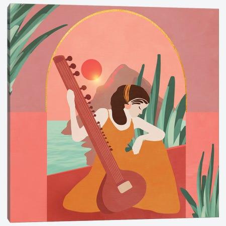 Women In Music 1 Canvas Print #VGO135} by Viviana Gonzalez Canvas Art