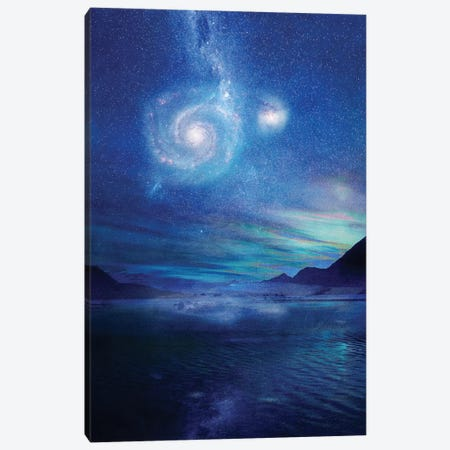 Poetry In The Sky Canvas Print #VGO13} by Viviana Gonzalez Canvas Artwork
