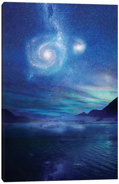 Poetry In The Sky Canvas Print #VGO13