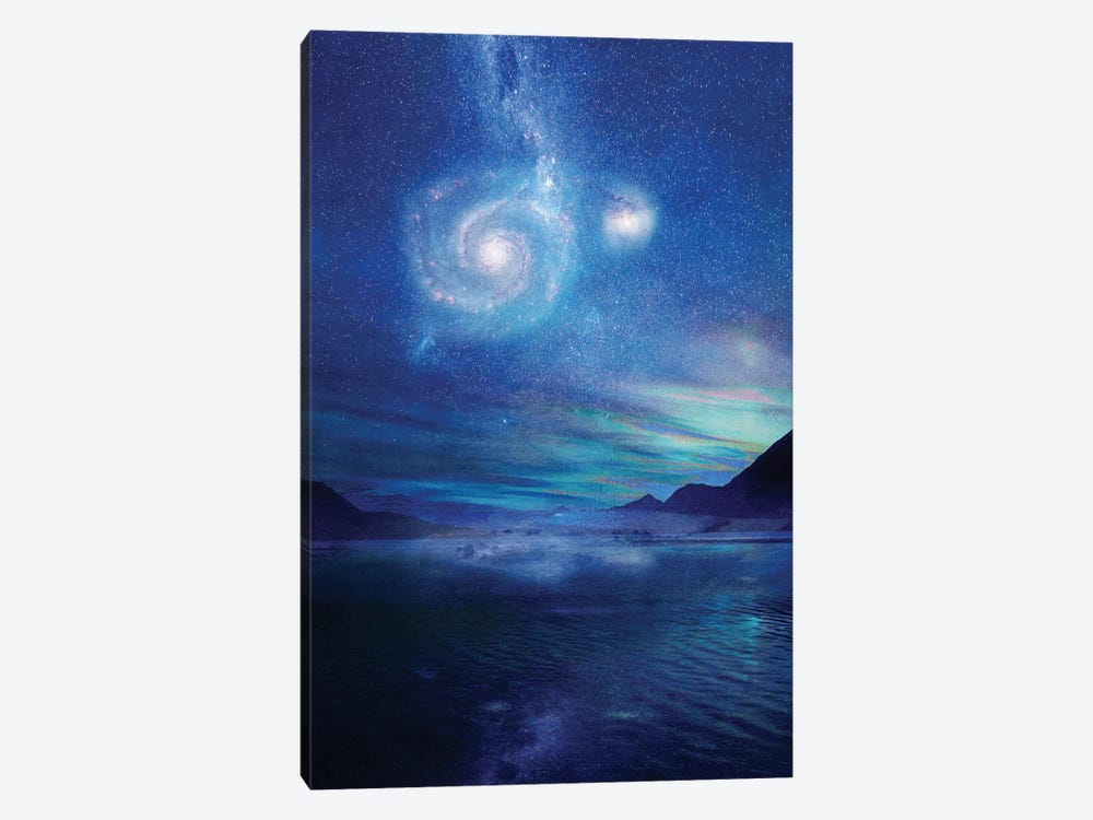 Poetry In The Sky by Viviana Gonzalez 1-piece Canvas Art Print